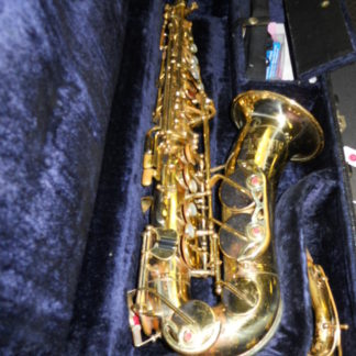 Used Instrument: H. Couf Royalist Alto Saxophone--#68290