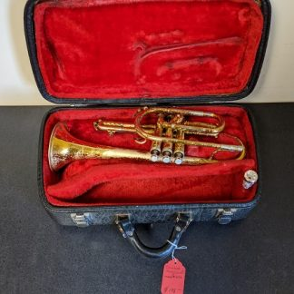 This King Cleveland cornet is a model 602.