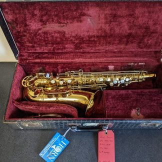 This King Super 20 is a professional horn that has a sound many jazz musicians desire.