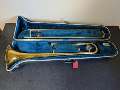 This King model 606 trombone is a good horn for a beginner player.