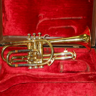 "Used INstrument: King Cleveland ""Superior"" Cornet--#186376"