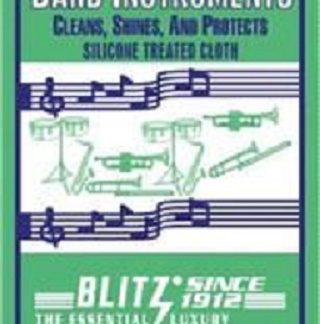 Blitz Lacquer Polishing Cloth