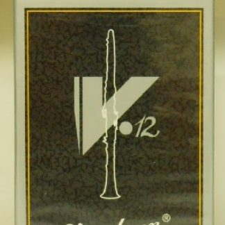 Vandoren V12 Clarinet Reeds, High Quality for Serious Players: #2.5 to #5 Available