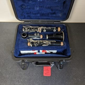 This Selmer clarinet is a nice instrument for a beginner player.