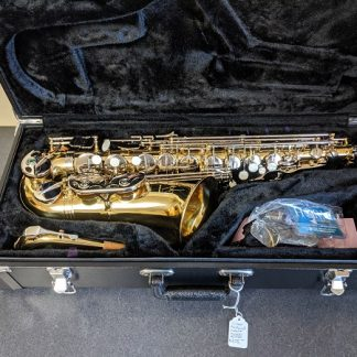 This Selmer AS600 is a nice saxophone for a beginner player.