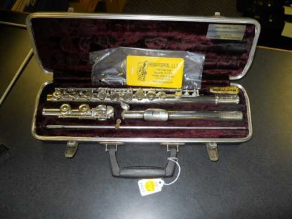 """Used Instrument: Selmer Signet """"Special"""" Flute--#14277"""