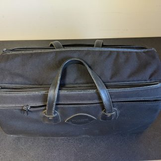 Trumpet case that holds up to three trumpets.